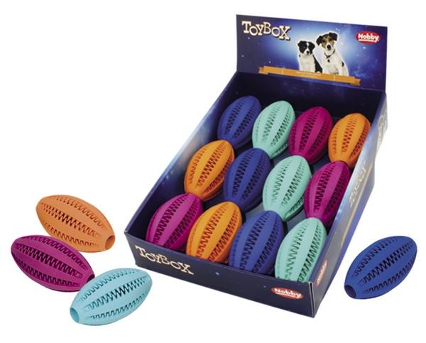 Nobby Rugby Ball - παιχνιδι για σκυλους μπαλα ραγκμπι φυσικο λαστιχο