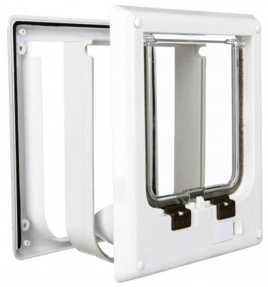 Trixie 4 way cat flap electromagnetic - πορτακι για γατες τοιχου ή πορτας για είσοδο εξοδο
