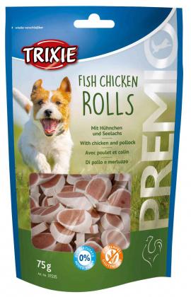Λιχουδια για σκυλους με ψαρι και κοτοπουλο Trixie Premio Fish Chicken Snack