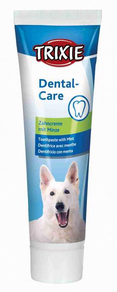 οδοντοκρεμα σκυλου με γευση μεντας trixie toothpaste with mint