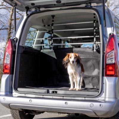 Trixie car dog guard διαχωριστικα αυτοκινητου σκυλου πορτμπαγκαζ για βαν ημιφορτηγα