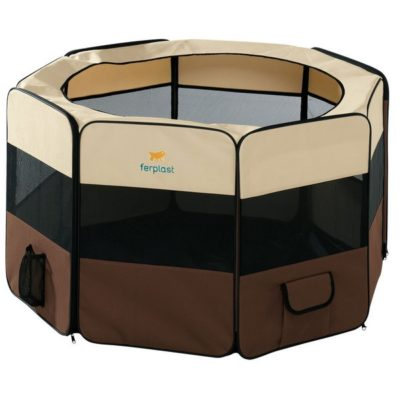 Το Ferplast Holiday Park πλαστικο crate για περιορισμο σκυλων & κουταβιων