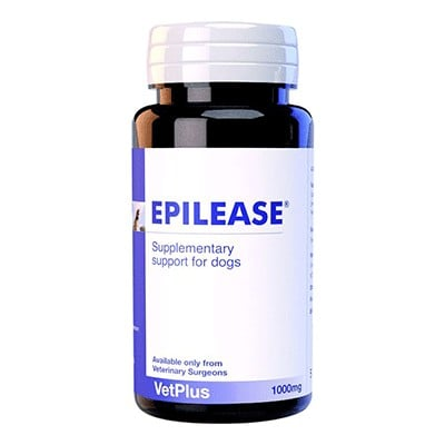 Epilease συμπληρωμα διατροφης για επιληπτικες κρισεις σε επιληψια σκυλου