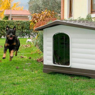Ferplast Dogvilla πορτακι για πλαστικο σπιτάκι σκύλου