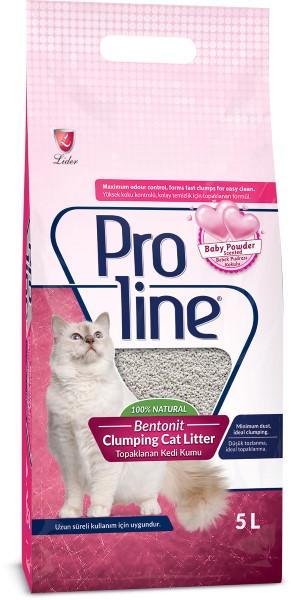 Η Proline Bentonite Baby Powder αμμος μπεντονιτη γατας