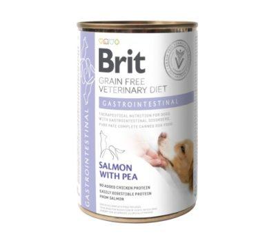 ΗΚλινικη διαιτα Brit κονσερβα σκυλων Gastrointestinal VD Grain Free για γαστρεντεριτιδα - διαρροια σκυλου