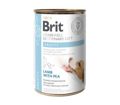 ΗBrit Obesity VD κονσερβα κλινικη διαιτα για σκυλους Grain Free - μειωση βαρους σκυλου