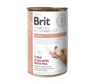 Brit VD Renal κονσερβες κλινικες διαιτες σκυλων Grain Free για σκυλους με χρονια νεφρικη ανεπαρκεια