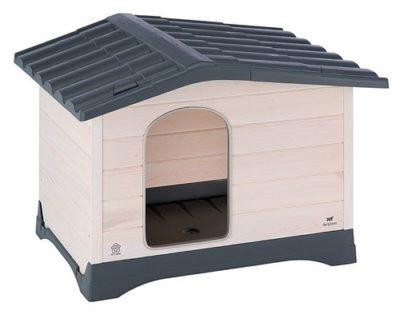 Ferplast Dog Lodge σπιτακι σκυλου ξυλινο