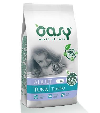 ΗOasy Adult Tuna ξηρα τροφη για ενηλικες γατες με τονο