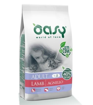 Oasy Adult ξηρη τροφη γατας για ενηλικες γατες με αρνι