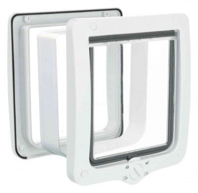 ΤοTrixie 4 way flap door πορτακι για γατα με τουνελ