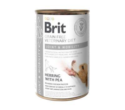 Οι Brit Joint Mobility VD κονσερβες κλινικες διαιτες σκυλων Grain Free για οστεοαρθριτιδα σκυλου - σκελετικα προβληματα