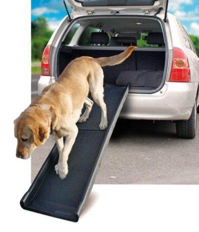 Karlie πτυσσομενη ραμπα σκυλου πλαστικη για αυτοκινητο - καναπε
