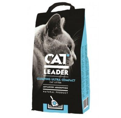 ΗCat Leader Clubing αμμος υγιεινης για γατες μπεντονιτης χωρις αρωμα