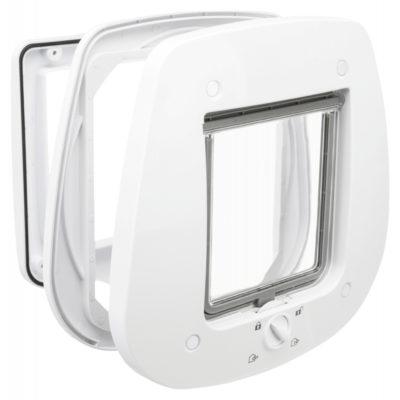 trixie 4 way flap door πορτα γατας για γυαλινες πορτες