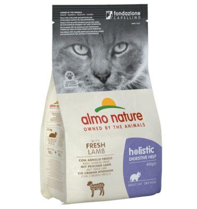 ΗAlmo Nature τροφες γατας Holistic Digestive Help με προβλημα ευαισθητου στομαχιου