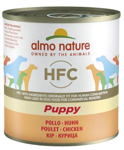 ΗAlmo Nature Puppy HFC κονσερβες για κουταβια με κοτοπουλο