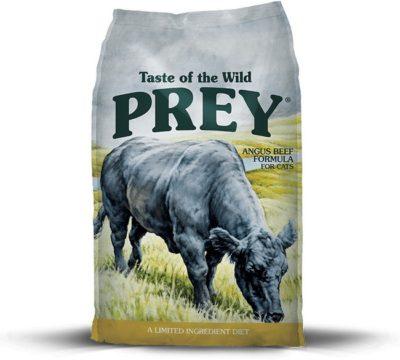 Taste of the Wild Prey Angus Beef ξηρα τροφη για γατες με μοσχαρι Angus