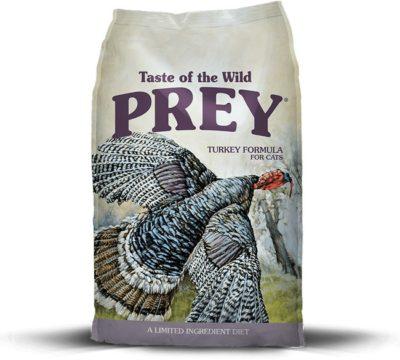 Taste of the Wild Prey Turkey ξηρα τροφη γατας με γαλοπουλα