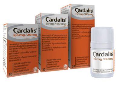Cardalis φαρμακο για καρδιοπαθεια σκυλου διαθεσιμη στο κτηνιατρειο μας