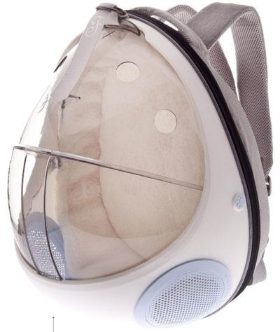 Ferribiella Backpack space traveller γατας διαφανης τσαντα μεταφορας σκυλου