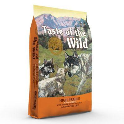 Taste of the Wild High Prairie Puppy τροφη για κουταβια Grain Free με βισονα