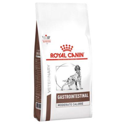 Η Royal Canin για σκυλους κλινικη διαιταGastro Intestinal Moderate Calorie τροφη για γαστρεντεριτιδα σκυλων διαρροια