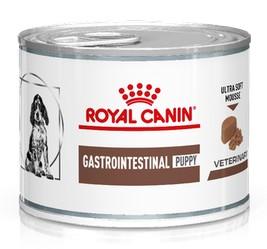 κλινικη διαιτα Royal Canin Gastro Intestinal Puppy κονσερβα για κουταβια με γαστρεντερολογικα προβληματα.