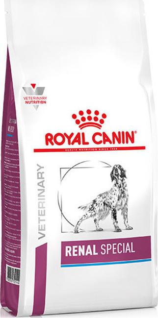 ΗRoyal Canin Renal Special κλινικη διαιτα για σκυλους τροφη σε νεφροπαθεια