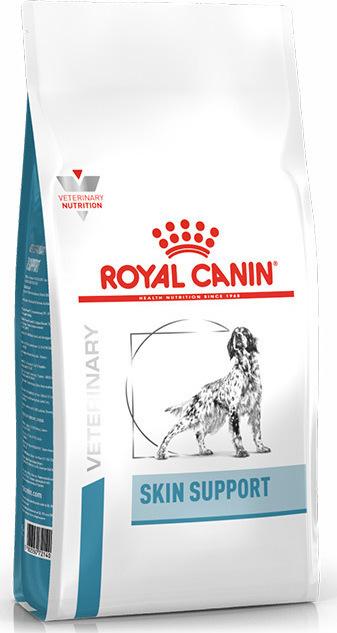 κλινικη διαιτα σκυλου Royal Canin Skin Support για βελτιωση αμυνας δερματος