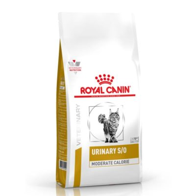 ΗRoyal Canin Urinary Moderate Calorie κλινικη διαιτα για γατα τροφη για προληψη ουρολιθιασης