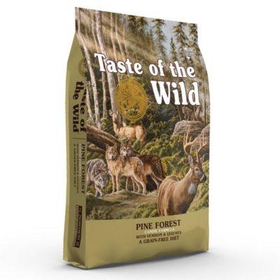 Taste of the Wild Pine Forest Grain Free ξηρα τροφη σκυλου με κρεας ελαφιου