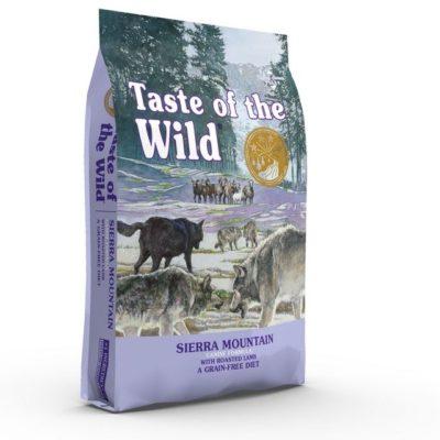 Taste of the Wild Sierra Mountain Grain Free ξηρα τροφη για σκυλους με κρεας αρνιου