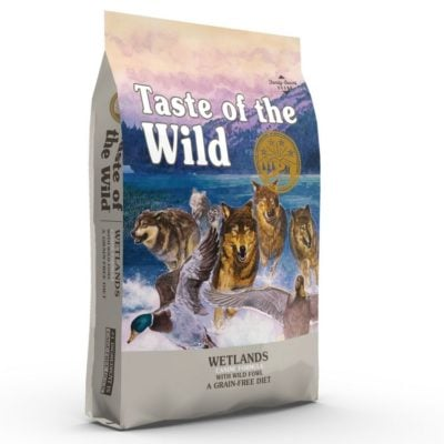 Η Taste of the Wild Wetlands τροφη σκυλων Grain Free