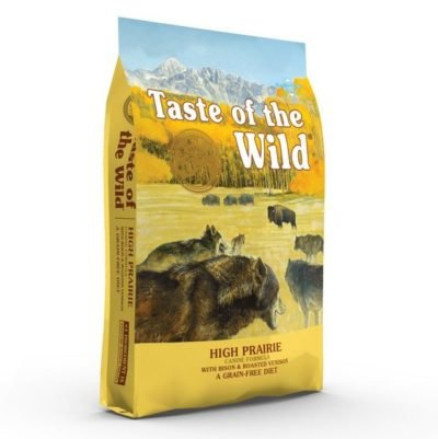 Taste of the Wild High Prairie τροφη σκυλου Grain Free