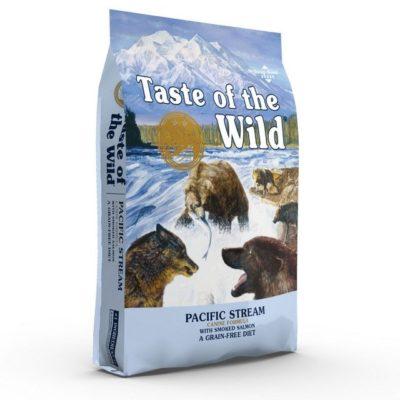 Taste of the Wild Pacific Stream Grain Free τροφες για σκυλους με καπνιστο σολομο