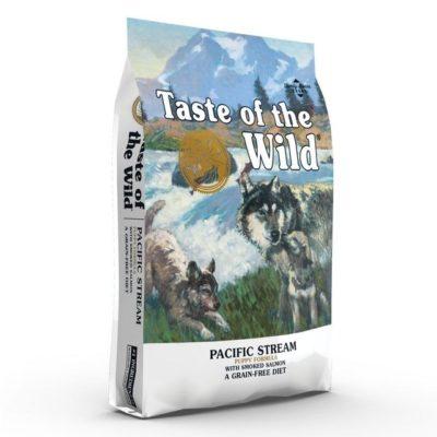 Taste of the Wild Pacific Stream puppy Grain Free τροφη για κουταβια με καπνιστο σολομο