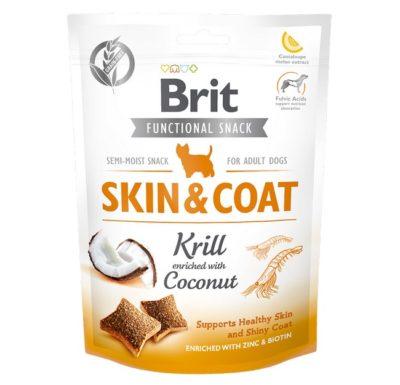 Brit Functional Skin & Coat σνακ σκυλου λιχουδια για υγιη αναπτυξη