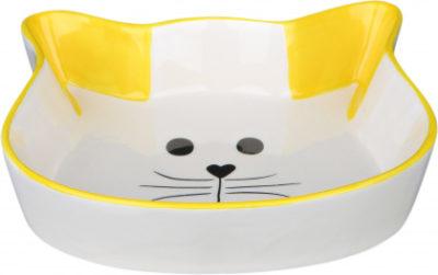 Trixie κεραμικα πιατακια για γατες με σχημα γατας