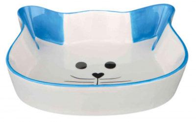 Trixie γατας κεραμικα πιατακια με σχημα γατουλας