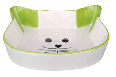 Trixie κεραμικα πιατακια γατας με σχημα γατας