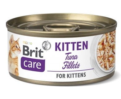 Brit Care Fish Fillet Tuna κονσερβες για γατακια υποαλλεργικη με τονο
