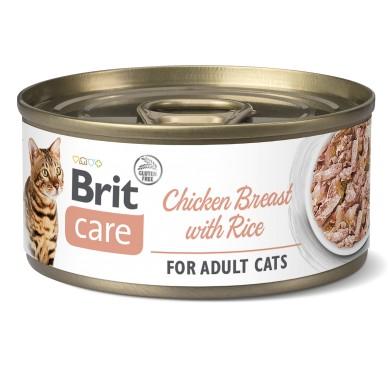Brit Care Fillet Chicken Breast γατας κονσερβα κοτοπουλο στηθος