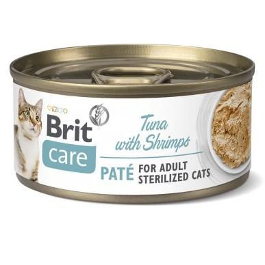 Brit Care Pate Tuna κονσερβες για στειρωμενες γατες με τονο