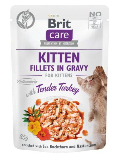 Brit Care Turkey Fillet υγρη τροφη για γατακια γαλοπουλα Grain Free