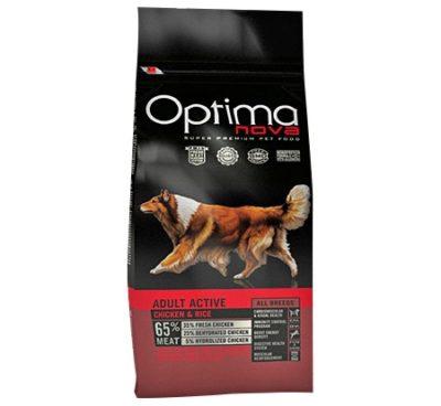 Optimanova Active μονοπρωτεινικη τροφη σκυλων ενεργειας