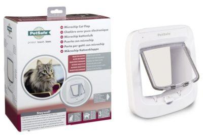 ΤοPetsafe πορτακι γατας με μαγνητικη αναγνωριση για εισοδο εξοδο στο σπιτι