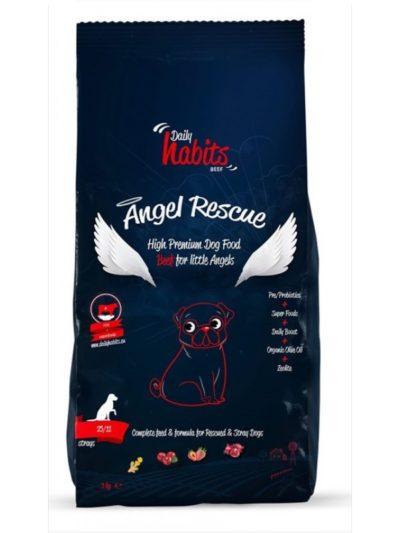 Daily Habits Angel Rescue τροφη σκυλων μοσχαρι
