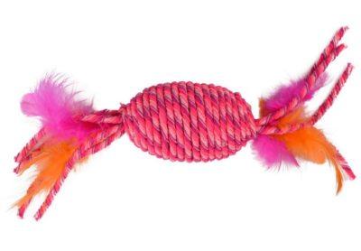Flamingo Bibi παιχνιδι απο σχοινι για γατες